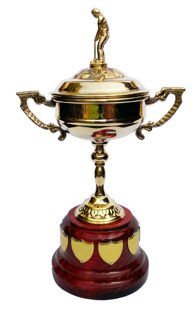 Gold Ryder Cup Replica Les Coupes