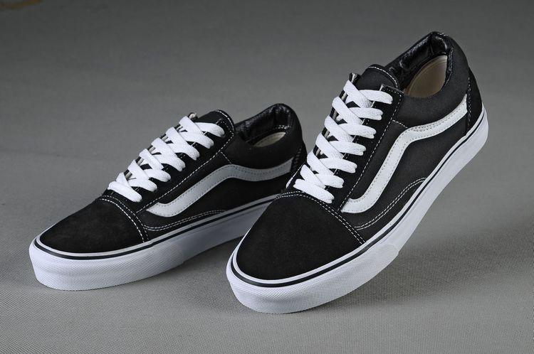 Vans Shoes Black White Original Old SKool Unisex Low