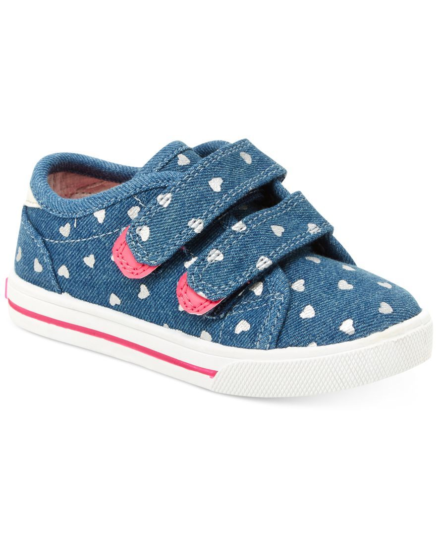 Carter's Nikki Printed Denim Sneakers, Toddler & Little