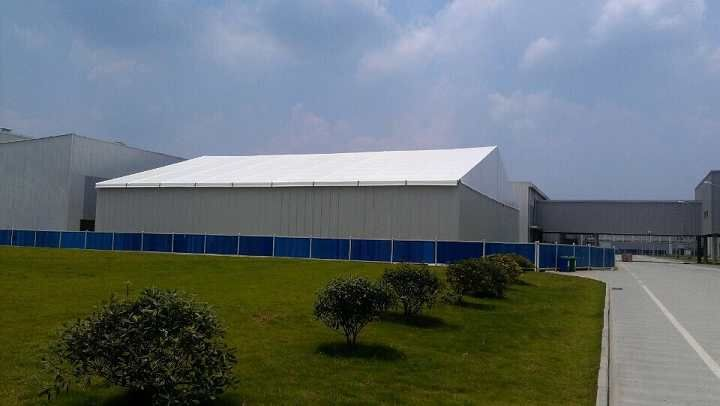Manufacturer of Warehouse Structures u0026 Storage Tent in sizes width spans from 30m to 50m/ Use aluminum material and ABS Wall manufacture the structures & Manufacturer of Warehouse Structures u0026 Storage Tent in sizes width ...