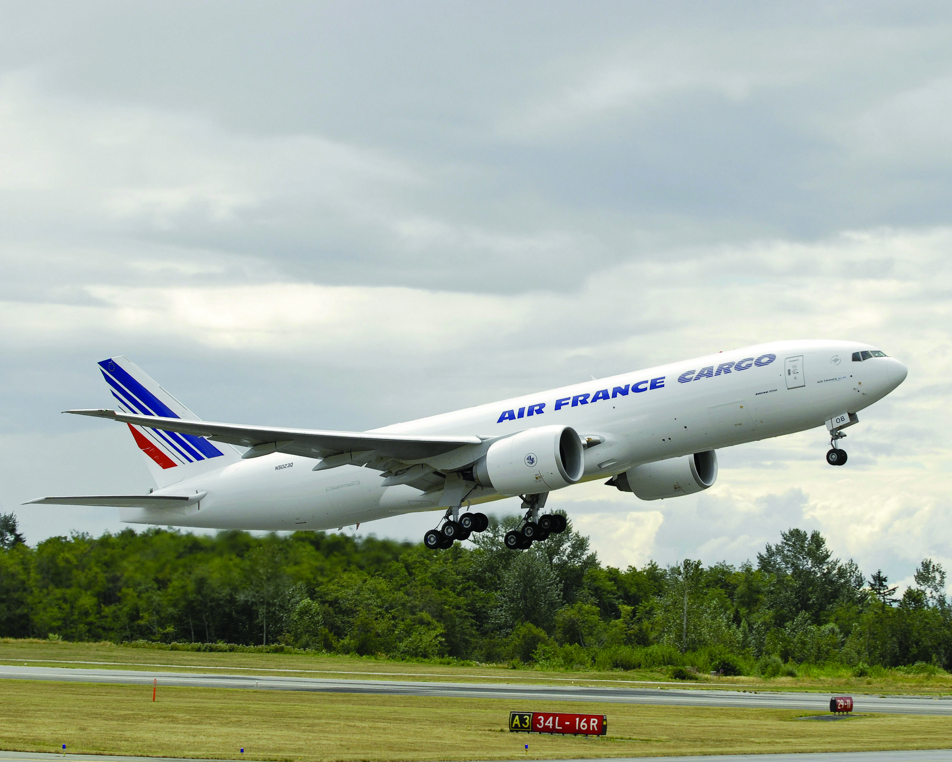 Air France Cargo B777 freighter