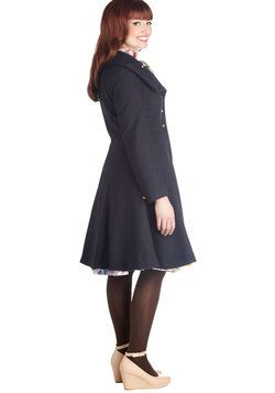 Pier Before Your Eyes Coat, #ModCloth