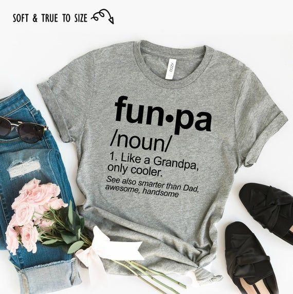 Christmas Funpa Funny Grandpa Shirts, Funny Grandpa Shirt, Grandpa Father Day Gift, Grandpa Gift, Grandpa Shirt, Funpa Shirt, Grandad Shirt #grandpagifts