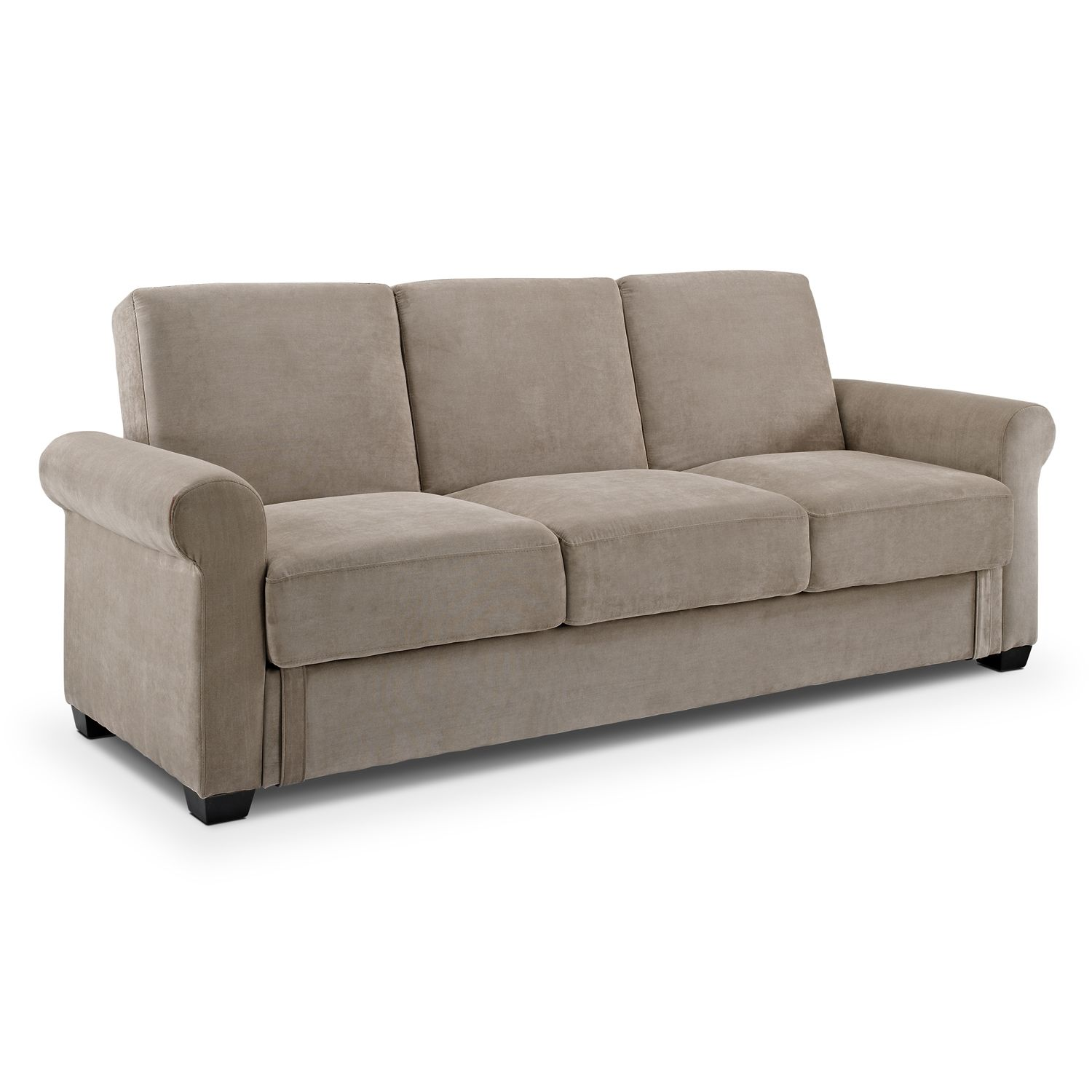 Thomas Upholstery Futon Sofa Bed With Storage Value City Furniture Love It Pinterest