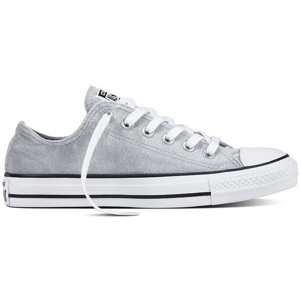 ad24eeea3ba241 Women s Converse Chuck Taylor All Star Velvet Sneakers ( 45) ❤ liked on  Polyvore featuring shoes