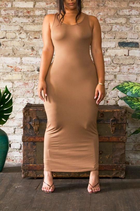 The Body Dress 'Naked' (fits up to Plus)
