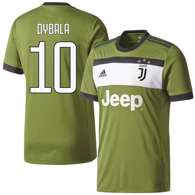 a0c6cea54e Camiseta de la Juventus 2017-2018 3era + Dybala 21 (Dorsal Estilo Fan)   dybala  juventus  shirt  jersey
