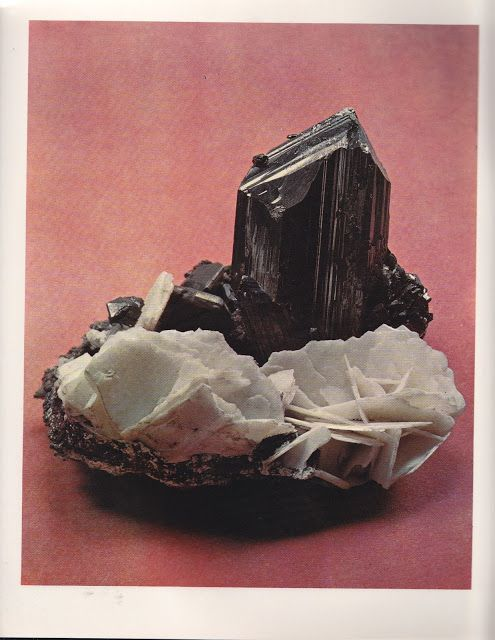 Chalcosite | England ©The World's Finest Minerals & Crystals by Peter Bancroft A Studio Book, The Viking Press, New York, 1973