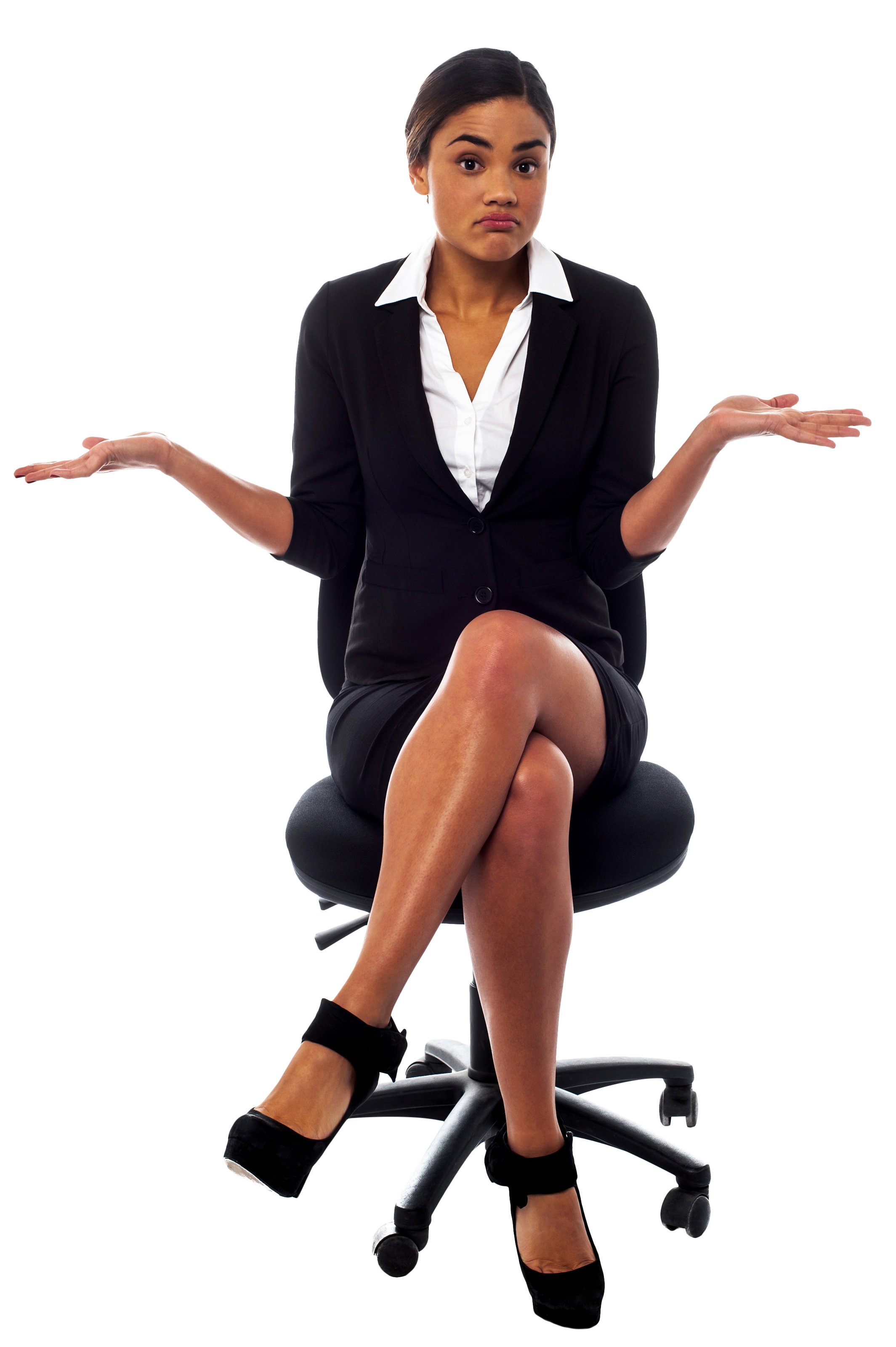 Women In Suit Png Image Suits For Women Dress Images Black White Dress