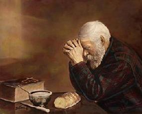 Eric Enstrom Grace Old Man Praying 1918 Eric Enstrom Is