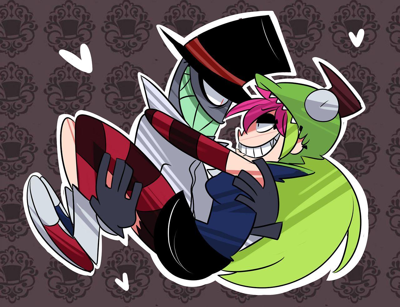 Black hat x Demencia | Villainous (Cartoon Network