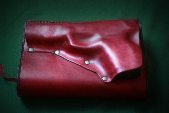 Custom Leather Bible or Book Cover with by