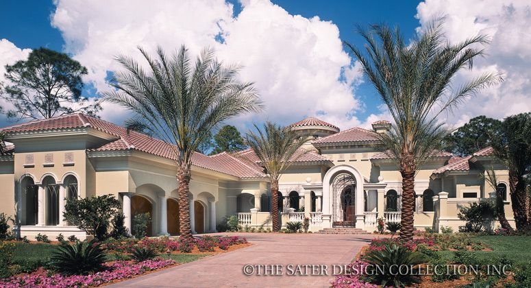 Casa Bellisima House Plan | Luxury houses, Elevation plan and Bedrooms