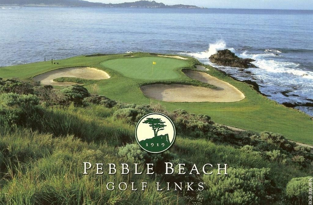 Pebble Beach Golf Course How Could