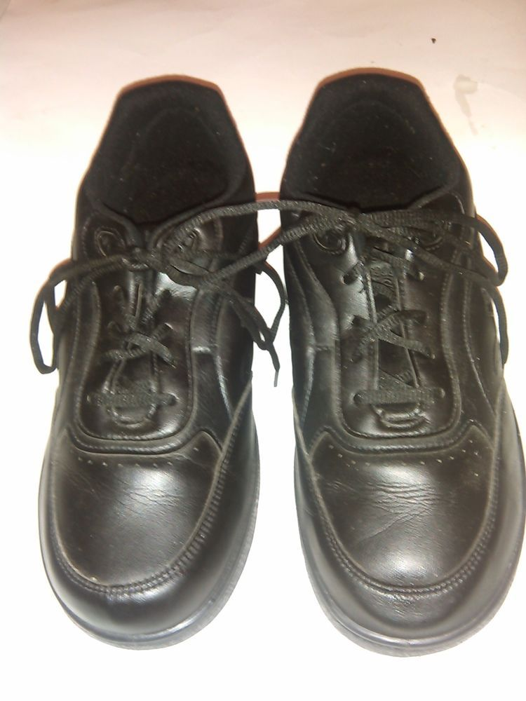 New Balance WW811 Womens Size 11D Black Leather Roll Bar Walking Hiking Shoes #NewBalance #