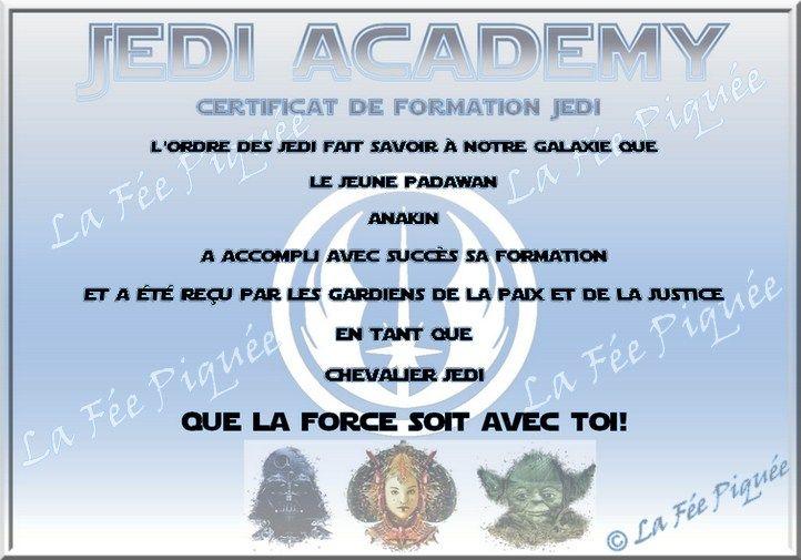 Très Anniversaire Star Wars / Star Wars' birthday | La Fée Piquée  KK19