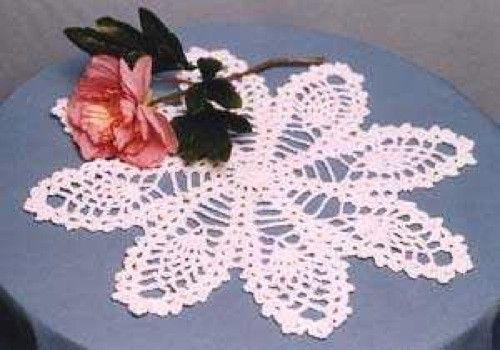 Pineapple Doily And Table Topper Crochet Pattern Pattern Design