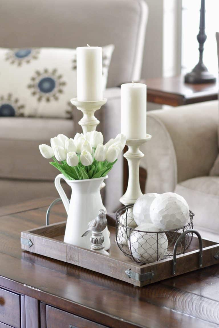 Simple Round Coffee Table Styling Ideas In 2020 Round Coffee Table Styling Coffee Table Coffee Table Styling