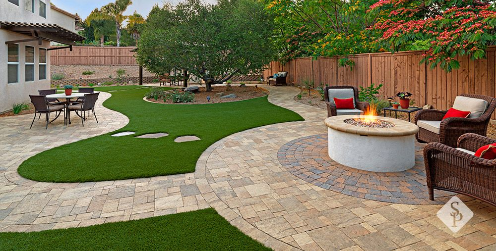A backyard remodel should encompass elements that make - Gasfeuer garten ...