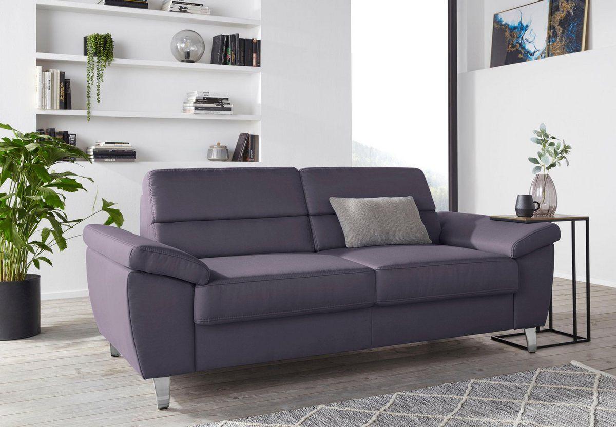 2 5 Sitzer Breite 208 Cm Wohnen Haus Deko Und Federkern Sofa