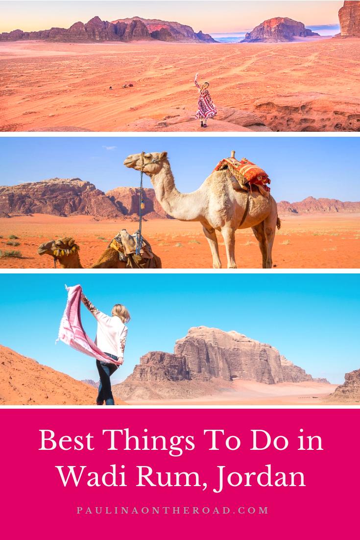 8 Great Things To Do in Wadi Rum Bedouin Camp #wadirum