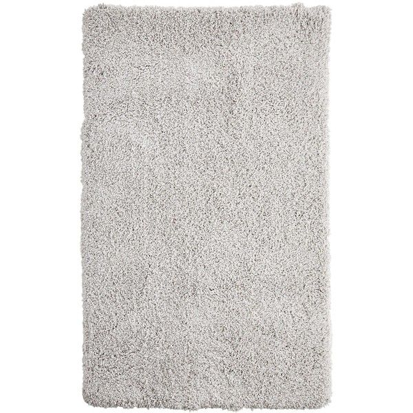 Perfect Pier 1 Imports Curly Light 4x6 Shag Rug ($100) ❤ Liked On Polyvore Featuring