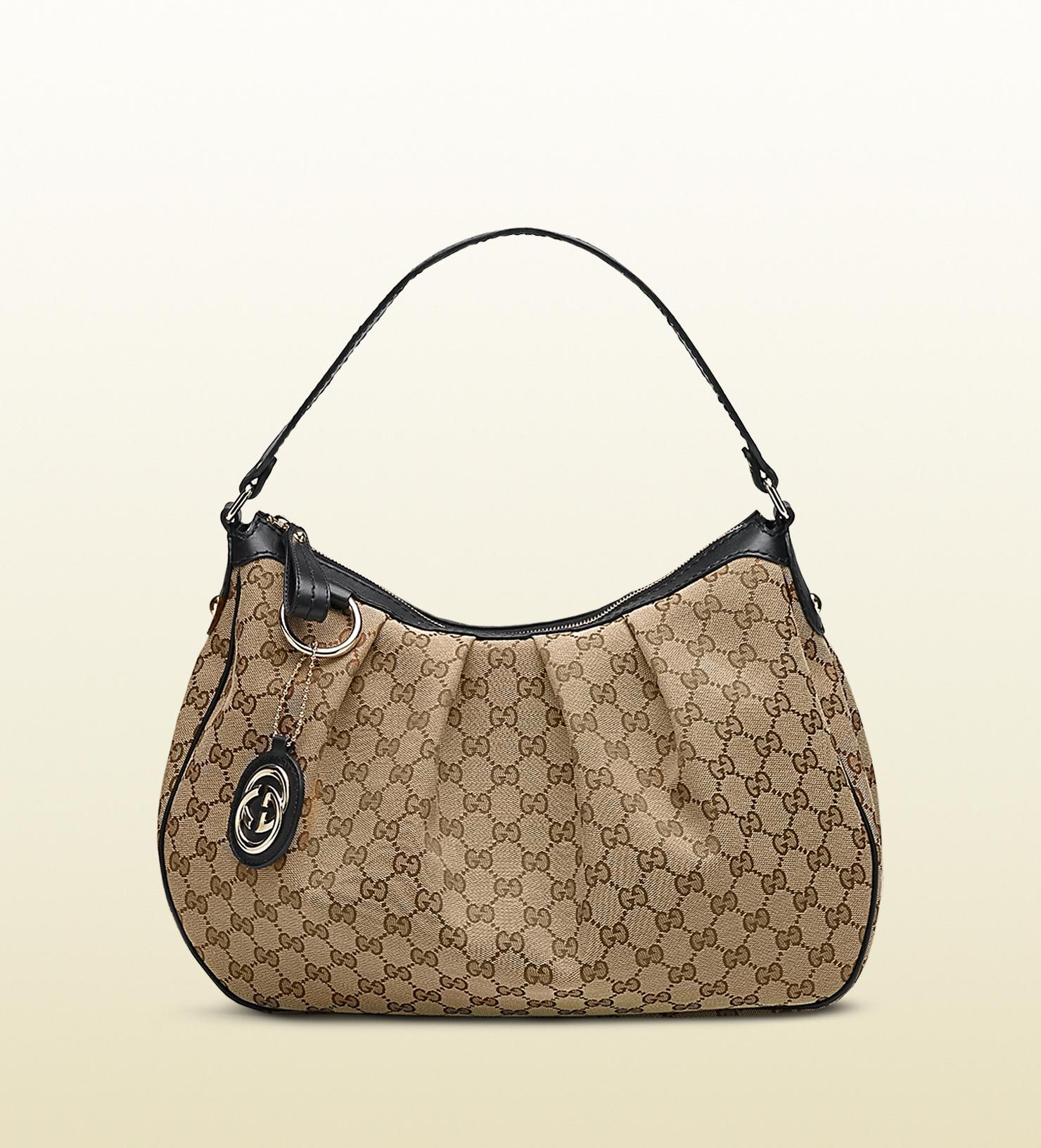 outlet store 8be90 918a9 Gucci 'sukey' medium hobo with detachable interlocking G ...