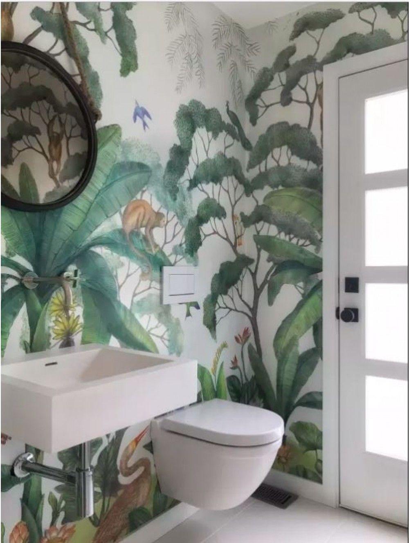 Lulu & Jungle Wallpaper Mural Cheap home decor