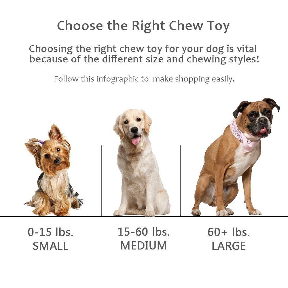 Small or Medium Sized Dog Toy Dog Bone Toy Tough Dog Toy