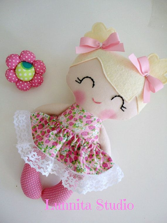 Handmade da boneca de pano, presente menina, Ragdoll, boneca de pano, boneca da…