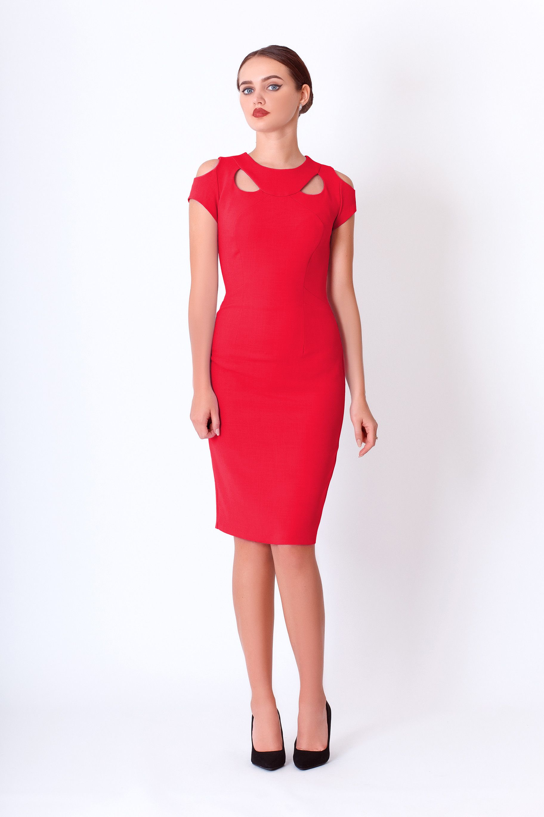Aisha dress in red u oostor lady in red pinterest bodycon