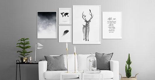 4be1aea36284e4 Billedevæggen med plakater online i sort og hvid. | Teenage gril ...