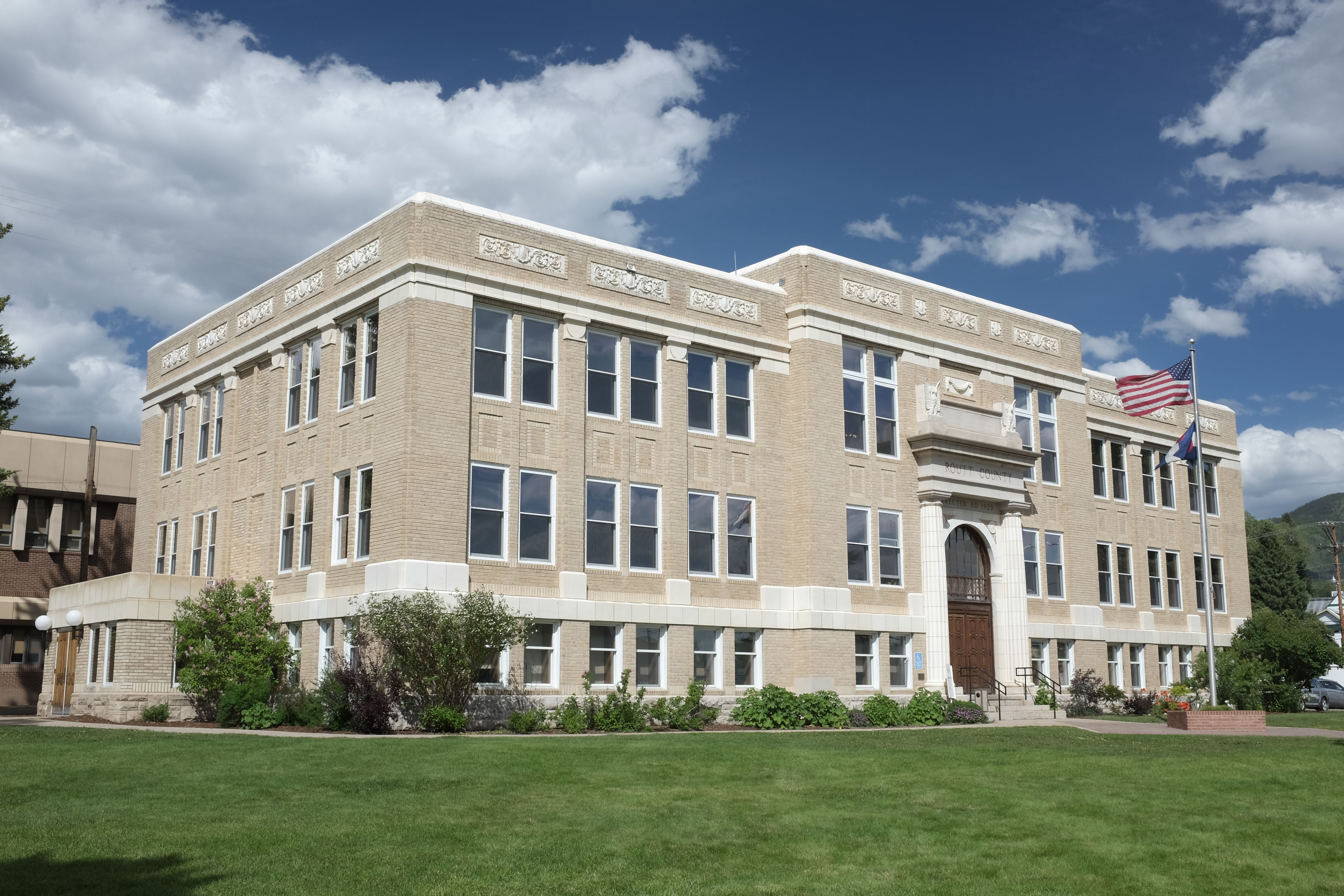 :Routt County Courthouse, Steamboat Springs, Colorado