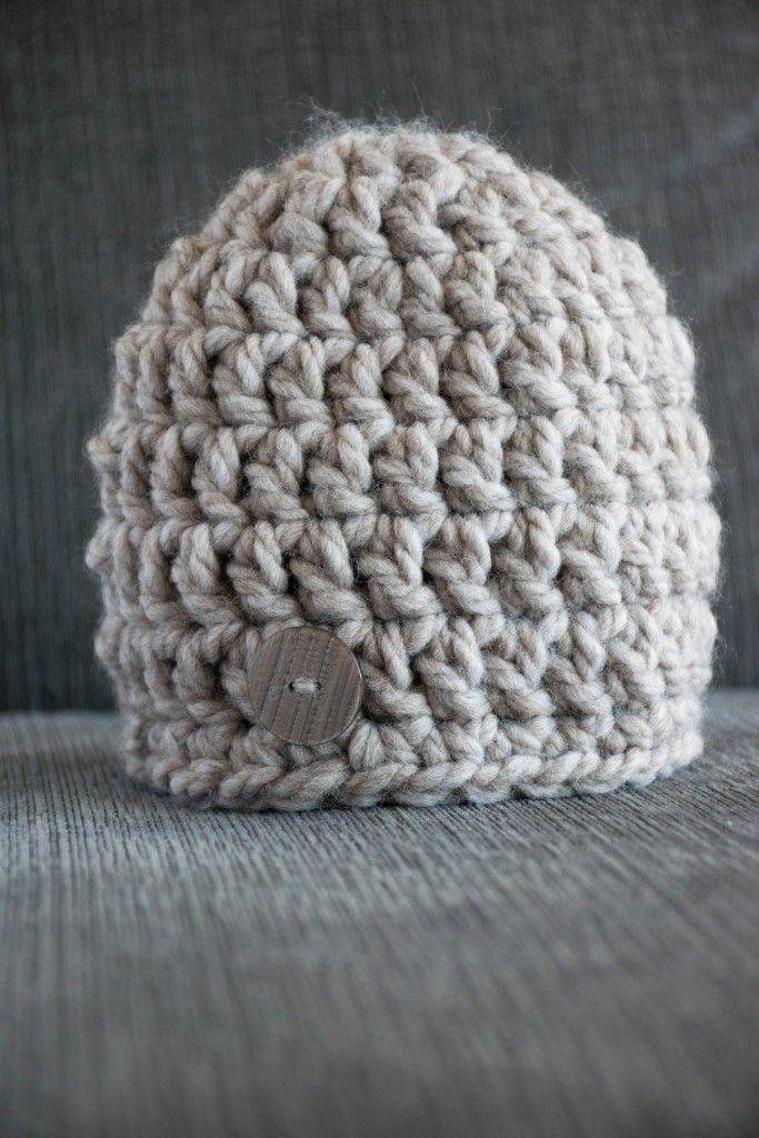 Chunky Newborn Hat Crochet Pattern  9734f27897e