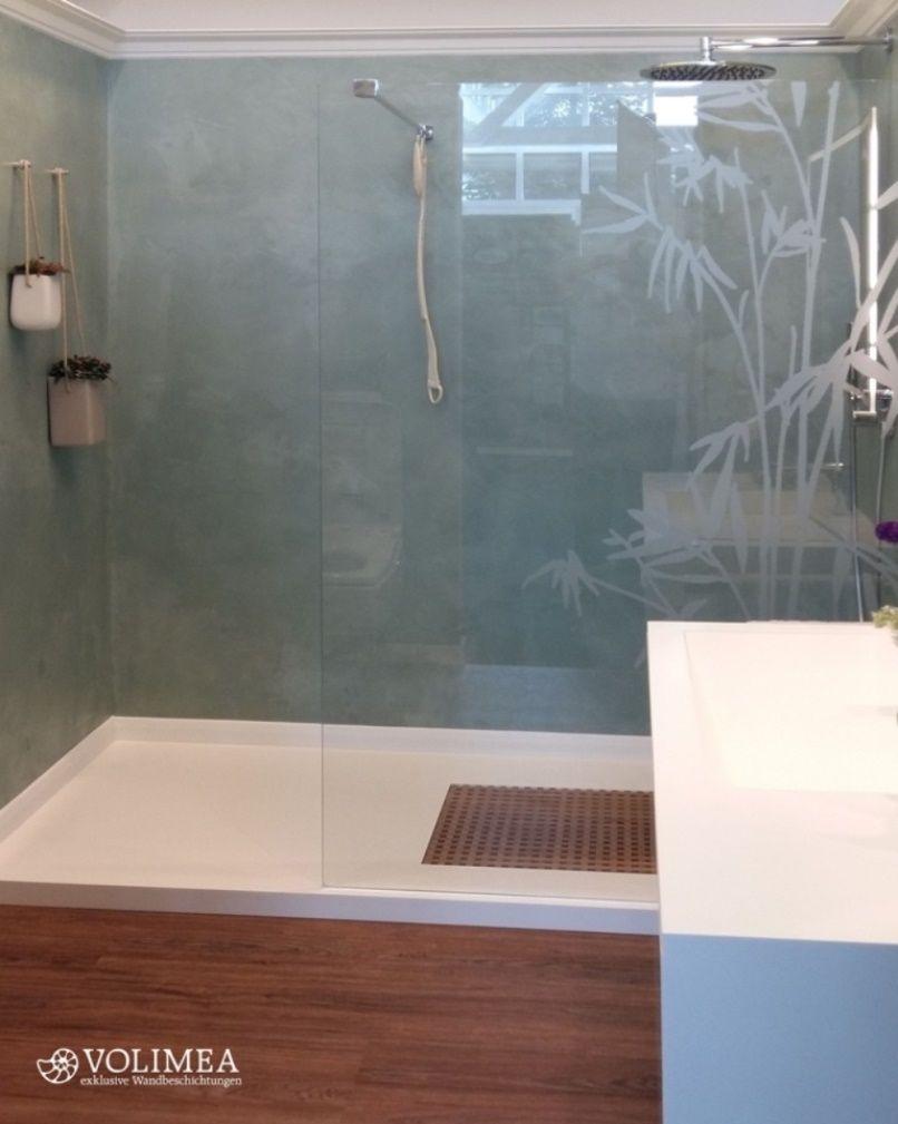 fugenlose dusche edel und stylisch ist diese fugenlose dusche in einem kleinen bad wird durch - Fugenlose Dusche Material