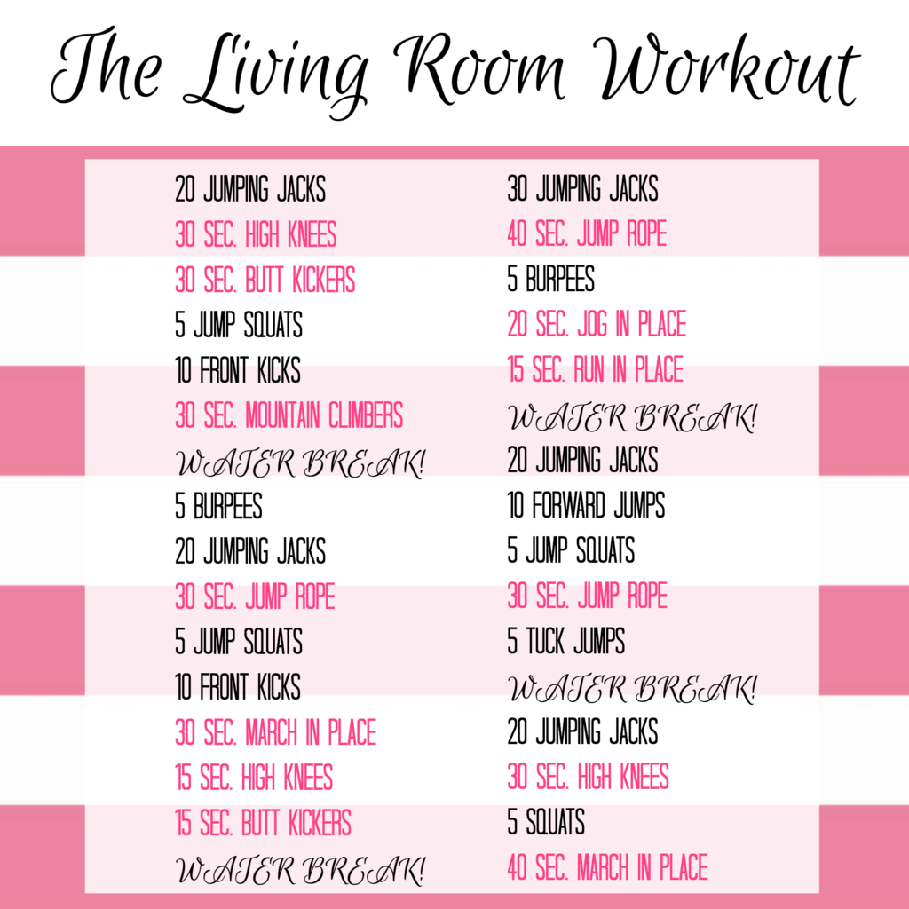 Living Room workout | Fitness | Pinterest | Living room workout ...