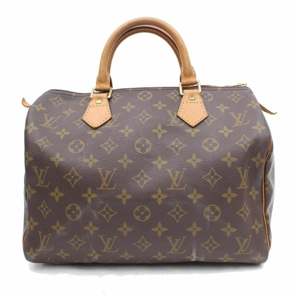 9b51381d638 Authentic Louis Vuitton Hand Bag Speedy 30 M41526 Browns Monogram 313666  #fashion #clothing #shoes #accessories #womensbagshandbags ...