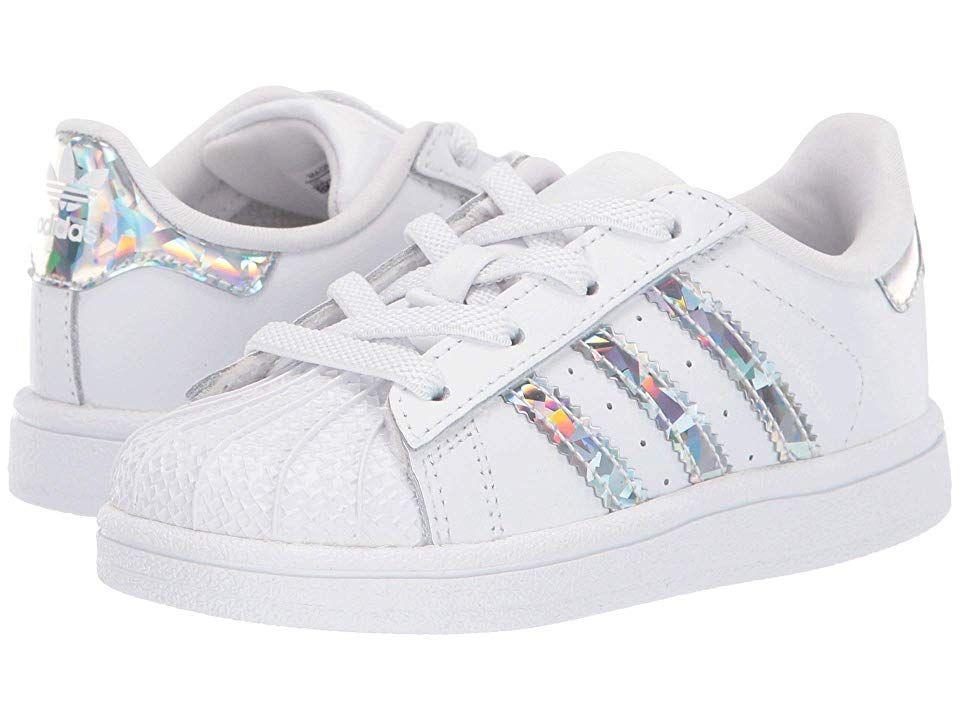 adidas superstar kids silver