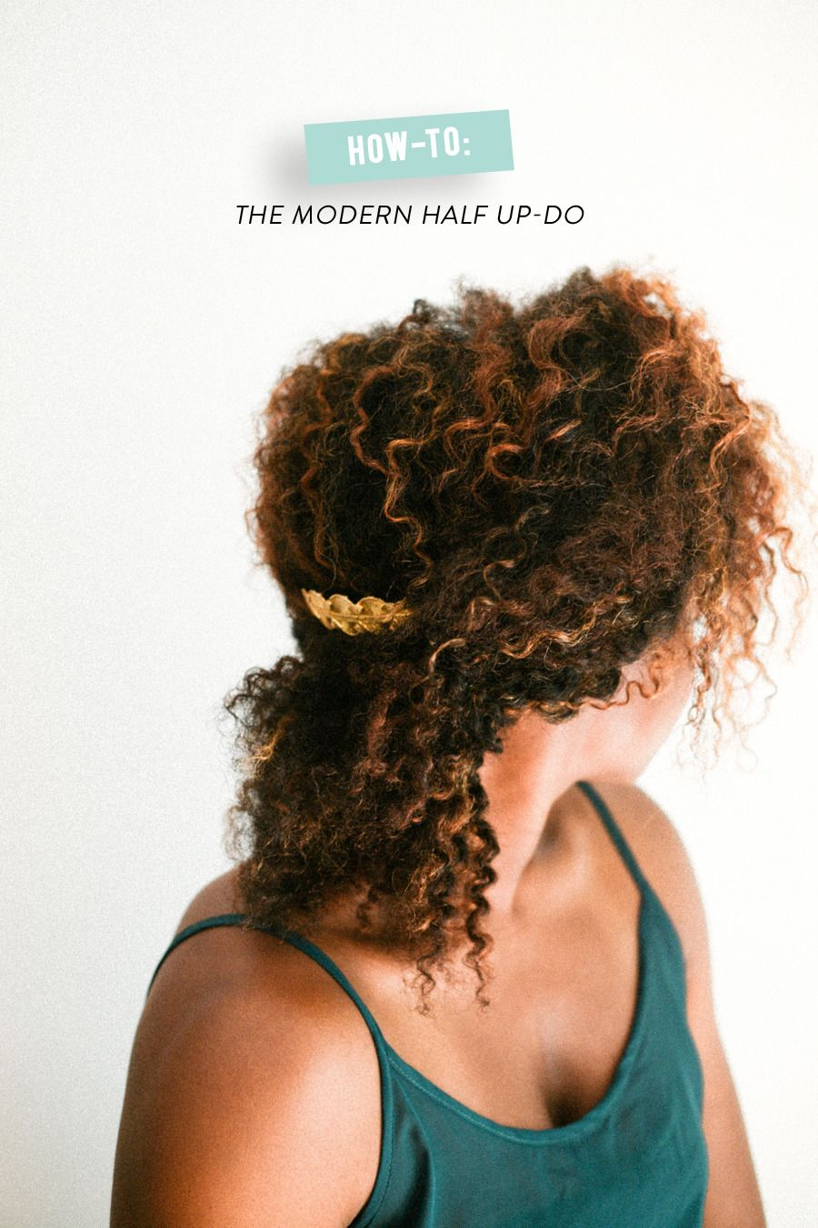 How-to: The Modern Half Up-Do