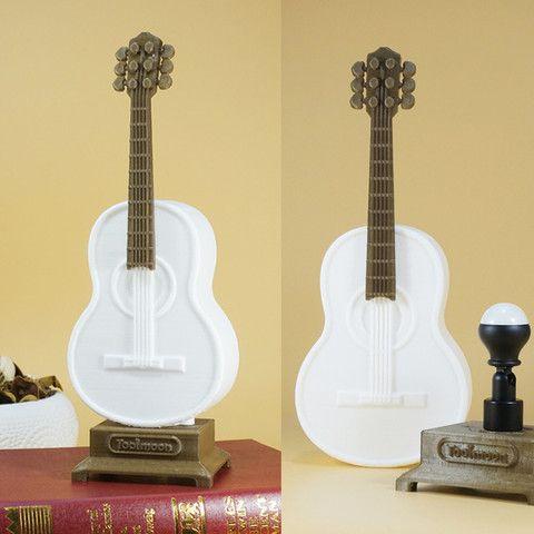 Guitar Lamp Guitar Lamp Lamp 3d Printing