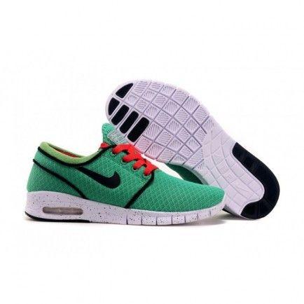 cbbf8fa73ee Nike SB Stefan Janoski Max Green Black Red Unisex