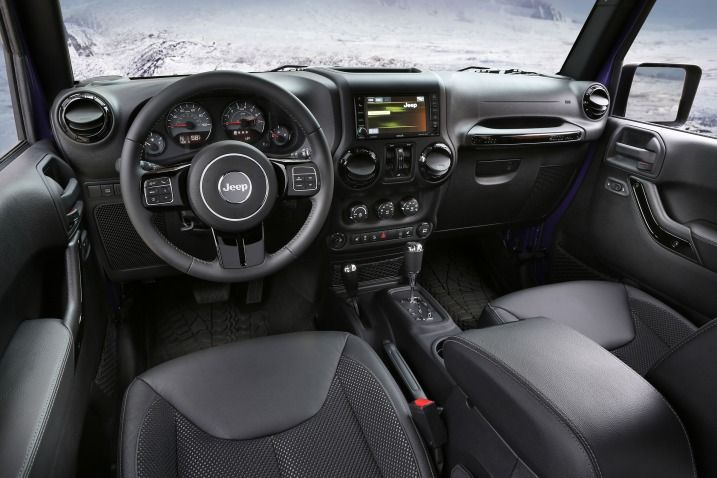 The Interior Is Only Part Of Upcoming 2017 Jeep Wrangler Which