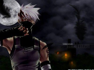 Dark Wallpaper Kakashi Anime Naruto Gambar Kakashi Cara Menggambar