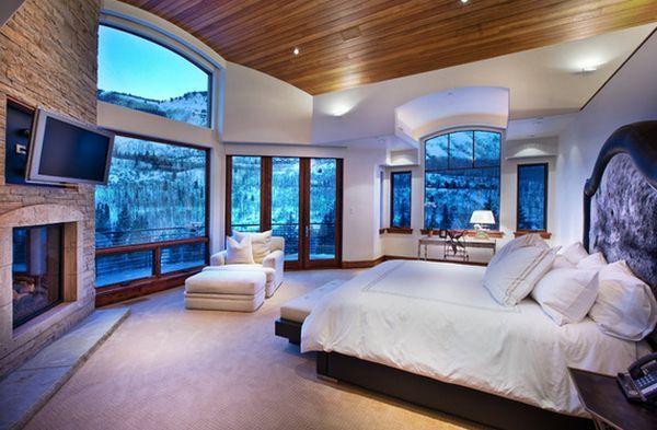 master bedroom mountain views big windows. master bedroom mountain views big windows   Master bedroom