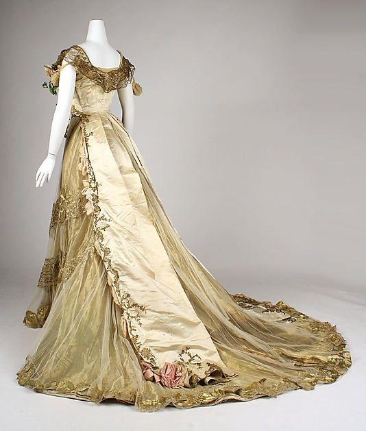 Dress (Ball Gown) Driscoll Date: Ca. 1900 By LBFdujour