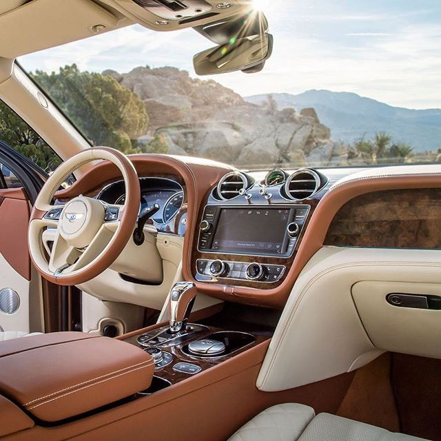 Bentley Luxury Car Inside: Make Your #Bentayga Completely Yours By Choosing A Unique