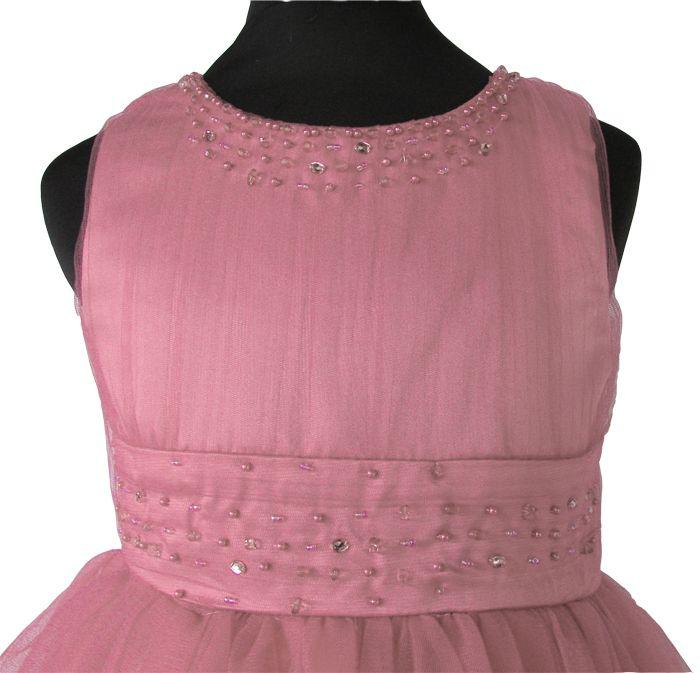 5a2e11e01a2 Πανέμορφο Παιδικό Φόρεμα για Παρανυφάκι ή Πάρτυ σε Ροζ