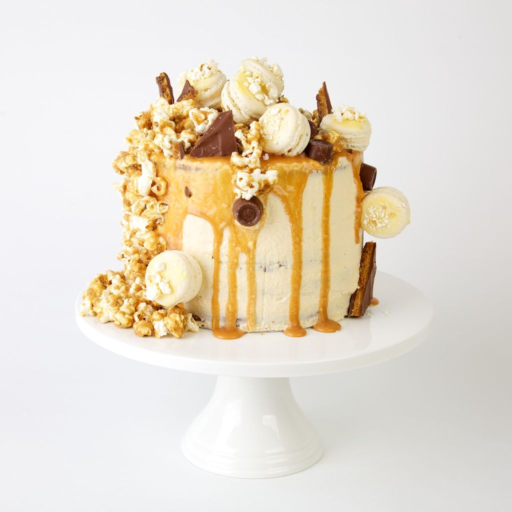 wedding cake popcorn salted caramel and popcorn desserts 23519
