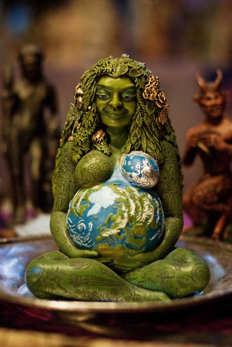 Millenial Gaia by Oberon Zell Ravenheart