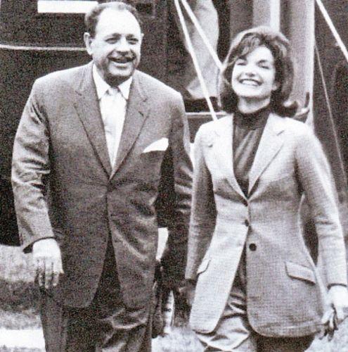 Jackie with Ayub Khan of Pakistan